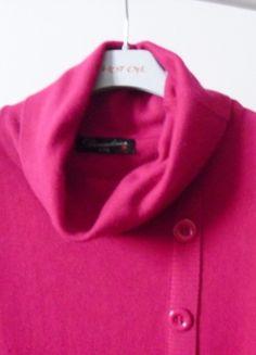 Kup mój przedmiot na #vintedpl http://www.vinted.pl/damska-odziez/dlugie-swetry/10830517-bordowy-dlugi-sweter-kolnierz-ml