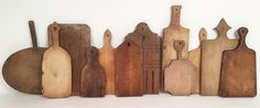 Lost Found Art - Antique Cutting Board Collection