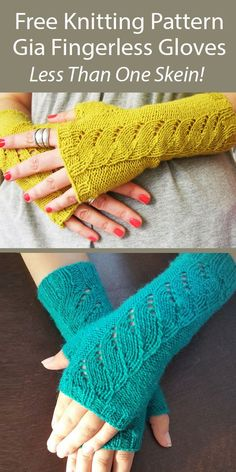 Beginner Knitting Patterns, Knitting Stiches, Lace Knitting, Knit Patterns, Fingering Yarn, Fingerless Gloves Knitted, Jewerly, Hobbies, Cable
