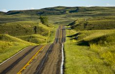 The Sandhills with plenty of moisture = rolling green hills! SandhillsWesternVacations.com