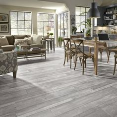 Mannington Restoration Wide Plank x x Oak Laminate Flooring in Iron Mannington Laminate Flooring, Waterproof Laminate Flooring, Hardwood Floors, Wood Flooring, Ceramic Flooring, Garage Flooring, Plywood Floors, Kitchen Flooring, Area Industrial