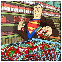 Superhero-Paparazzi-Shots-Superman-600x600
