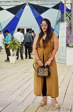 OOTD : What I wore to the Amazon India Fashion Week SS17 - 1 | The Shopaholic Diaries - Indian Fashion, Shopping and Lifestyle Blog !
