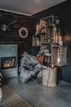 Svenngården: The mountain cabin Interior Styling, Interior Design, Industrial Apartment, Unique Buildings, Modern Spaces, Hygge, Homesteading, Rustic Decor, Bedroom Decor