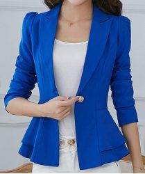 Cheap Blazers For Women | White And Black Blazers For Women Online At Wholesale Prices | Sammydress.com Page 2