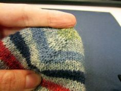 Toe Up Sock Pattern Tutorial - After months (and months) of trial and error, I've found an awesome way to make no gap, no problem knitted toe up socks.  The process involves a bit of crochet, but it's fairly simple.