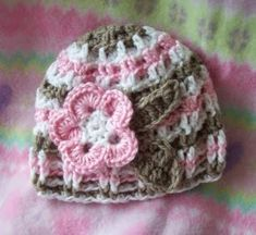0a0db41d5e15 Baby Daughters Hat. Mother and Daughter Free Crochet Hat pattern