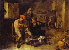In the Tavern - Adriaen Brouwer