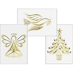 Free Christmas Tree | Free patterns at Form-A-Lines Stitching Cards