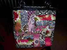 Vera Bradley patchwork bag... I think I like this!