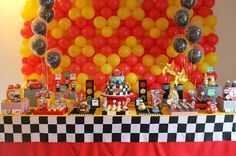 Eu e os Gêmeos: Festa Infantil: Tema Carros