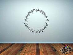 Lord of the Rings The One Ring Wall Sticker
