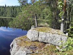 Rock in Kangasniemi Finland, Countries, Scandinavian, Vacation, Rock, Nature, Pictures, Photos, Vacations