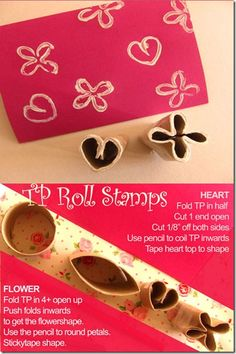TP Roll Stamps#Repin By:Pinterest++ for iPad#