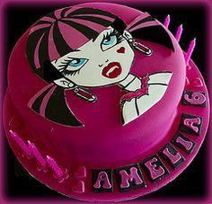 Draculaura Cake (Cute Sweet Thing) Tags: birthday girl monster cake high doll vampire topper draculaura
