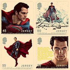 Man of Steel Stamps