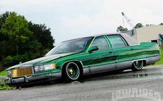 1995 Cadillac Fleetwood - Lowrider Magazine Photo 01