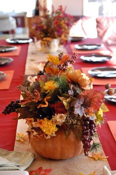 •❈• Thanksgiving Table Decorations