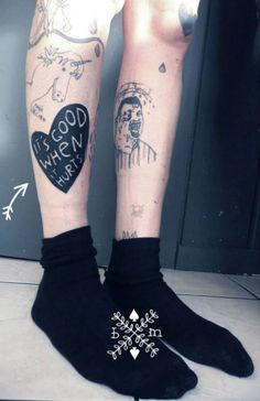 #tattoofriday - Béatrice Myself
