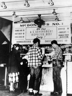The First McDonald's - 1948
