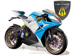 Lightning's Electric Superbike: claims 0 - 100 mph (160 km/h) time of 3 seconds, and acceleration from 100 mph to top speed (166 mph for the basic Superbike) in l...