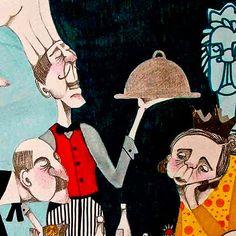 Ilustración. La pobre viejecita de ESTELA AGUDELO  Ilustración compartida desde Medellín (COLOMBIA).    Leer más: http://www.colectivobicicleta.com/2012/04/ilustracion-de-estela-agudelo.html#ixzz1sauWvwFR