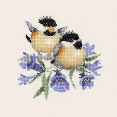 Bluebell Chick-Chat - Valerie Pfeiffer Chickadee                                                                                                                                                                                 More