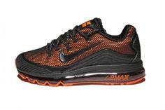 e4a233041794 Men s Nike Air Max 2018 Elite KPU TPU Shoes Black Orange  men ssneakers