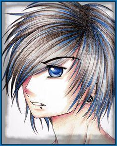 10 Mejores Imágenes De Emos Drawings Beautiful Drawings Y Anime Art