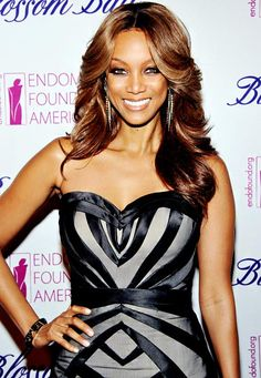 Tyra Banks attends the Blossom Ball on March 15, 2012 in New York City.