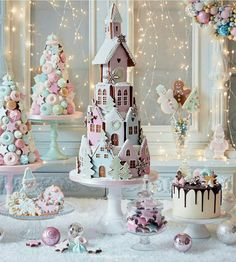 Baby shower theme: Christmas Winter❤ Gingerbread