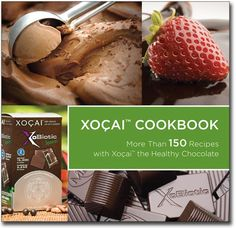 "Xocai Cookbook -- ""Have you ever considered making salad, sauces, breads or chili using Xocai the Healthy Chocolate? Well now you can! This cookbook contains more than 150 Recipes using Xocai The Healthy Chocolate."""