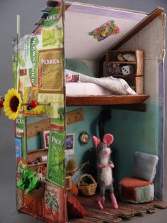 My little mouse house