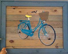 Rustic Cruiser Bike Art