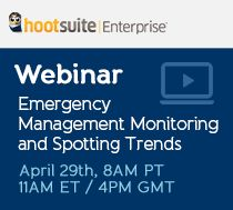 Part 1: Emergency Management Monitoring and Spotting Trends