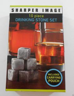 #books, textbook, school , college Sharper Image Drinking Stone Set with Pouch 10 Piece whiskey Spirits Chilling withing our EBAY store at  http://stores.ebay.com/esquirestore