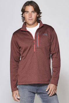 The North Face Canyonlands Red  Zip | South Moon Under