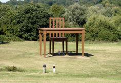 The Writer - giant sculpture in Hamsptead Heath park
