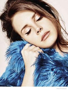 LANA DEL REY TAKES ON CASUAL GLAM STYLE FOR COVER SHOOT OF GRAZIA FRANCE