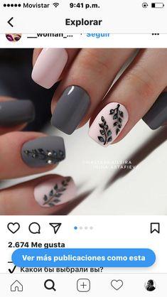Color Nails, Nail Colors, Hair And Nails, My Nails, Nail Candy, Mani Pedi, Nails Inspiration, Beauty Nails, Nail Art Designs