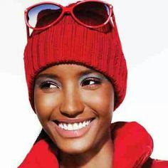 Fatima Siad For: Snow Magazine [source] Fatima Siad, Photo Essay, Brown Skin, Covergirl, Couture, Editorial Fashion, Parka, Marc Jacobs, Chelsea