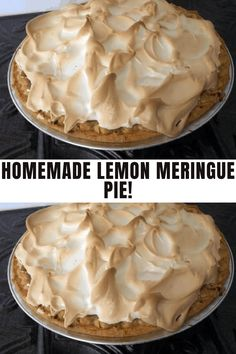 Ingredients: 1 cup white sugar 2 tablespoons all-purpose flour 3 tablespoons cornstarch #pie #recipe #homemade Citrus Recipes, Easy Baking Recipes, Sweet Recipes, Yummy Recipes, Vegetarian Recipes, Cookie Desserts, Just Desserts, Dessert Recipes, Dessert Ideas