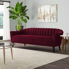 Living Room Sofa, Living Room Furniture, Living Room Decor, Sofa Furniture, Furniture Design, Zeina, Mid Century Sofa, Velvet Armchair, Sofa Design
