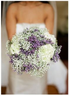 Baby's Breath bride bouquet :)