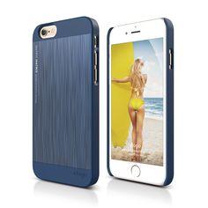 elago S6+ Outfit MATRIX Aluminum Case for iPhone 6 Plus - Jean Indigo + Jean Indigo