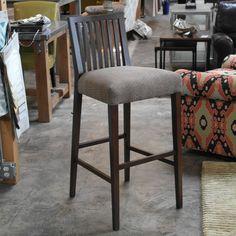 Slat Back Barstool #furniture #desmoines #interiordesign #chairs #homedecor