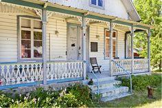 Vacker veranda