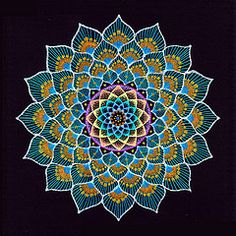 Mandalas. In Hinduism and Buddhism they represent the total universe.