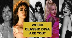 Which Classic Diva Are You? Quiz. I got Celine Dion. Comment yours. :)