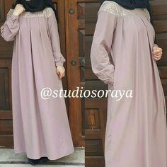 @studiosoraya elbiseleri Muslim Dress, Hijab Dress, Hijab Outfit, Abaya Fashion, Modest Fashion, Fashion Dresses, Hijab Style, Hijab Chic, Moslem Fashion